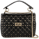 Valentino quilted shoulder bag - women - Leather/metal - One Size