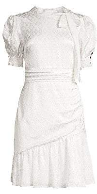 Shoshanna Women's Mischa Puff Sleeve Dress - Size 0