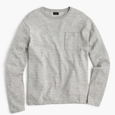 J.Crew Cotton crewneck sweater in nautical stripe