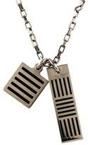 Louis Vuitton Damier Black Necklace