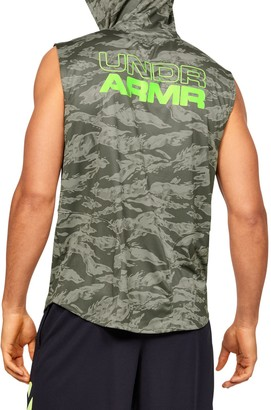 Under Armour Men's UA Baseline Sleeveless Hoodie