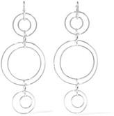 Noir Silver-tone earrings