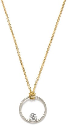 THE ALKEMISTRY 18kt Gold And Diamond Floating Necklace