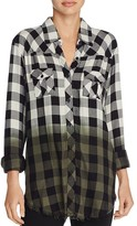 Signorelli Plaid Ombre Shirt