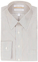 Roundtree & Yorke Gold Label Non-Iron Regular Full-Fit Point-Collar Striped Dress Shirt