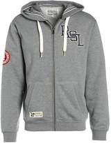 Russell Athletic THROUGH Tracksuit top collegiate grey marl