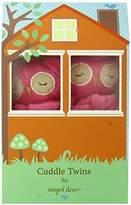 Angel Dear Cuddle Twin Set, Fuchsia Owl by