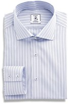 Maker & Company Men's Regular Fit Check Dress Shirt