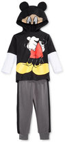 Nannette Baby Boys' 2-Pc. Mickey Mouse Hoodie & Jogger Pants Set