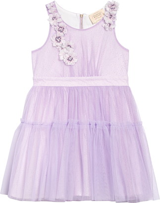 Hannah Banana Sparkle Tiered Party Dress