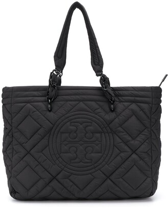 Tory Burch quilted tote bag