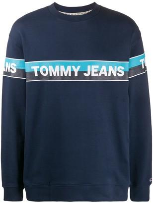 Tommy Hilfiger Crew-Neck Logo Sweatshirt