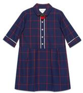 Gucci Little Girl's & Girl's Check Cotton Dress