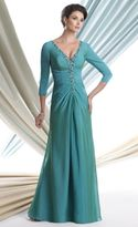Mon Cheri Montage by Mon Cheri - 113912 Long Dress In Patina