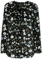 MICHAEL Michael Kors Floral Faux Fur Jacquard jacket