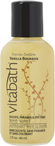 Vitabath Travel Size Vanilla Bourbon Body Wash