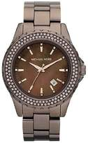 Michael Kors MK5640 Madison Brown IP Stainless Espresso Brown Dial 41mm Womens Watch