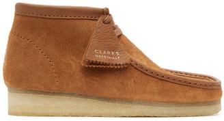 Clarks Tan Suede Wallabee Desert Boots