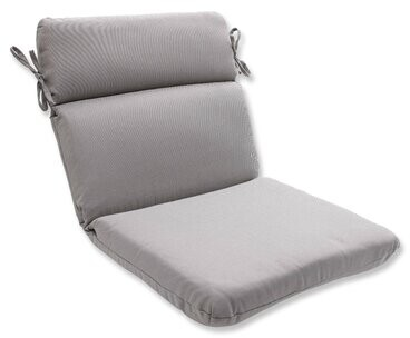 Winston Porter Indoor Outdoor Dining Chair Cushion Color Gray Shopstyle