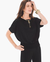Chico's Pintuck Top