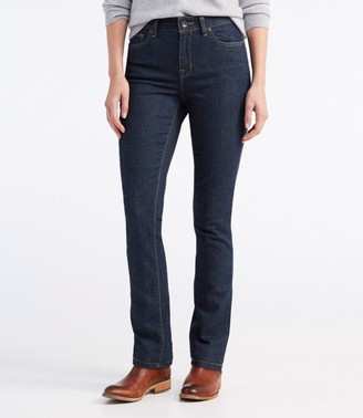 L.L. Bean Women's True Shape Jeans, Slim-Leg