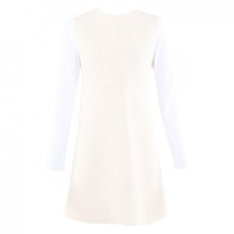 Louis Vuitton Ecru Wool Dresses
