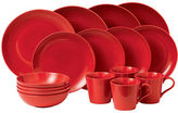 Gordon Ramsay Maze Chilli Red 16 Piece Dinnerware Set