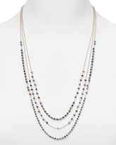 Argentovivo Triple Strand Chain Necklace, 24""