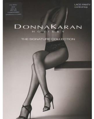 Donna Karan Hosiery Signature Sheer Lace Control Top Pantyhose