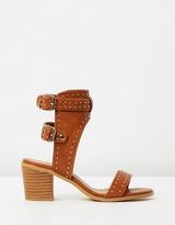 Spurr Geneva Studded Block Heels