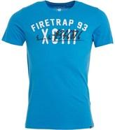 Firetrap Mens Hojo T-Shirt Cendre Blue