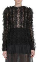 Givenchy Ruffled Lace Blouse