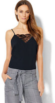 New York & Co. Lace-Inset Camisole