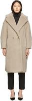 Max Mara Beige Teddy Bear Coat