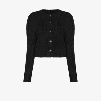 Etoile Isabel Marant Rianne wool knit cardigan