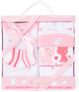 Sweet & Soft Pink Cat Four-Piece Gift Box Set