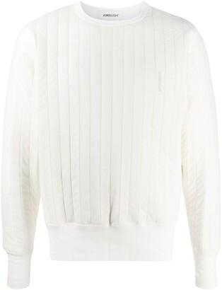 Ambush Drop Shoulder Padded Sweatshirt
