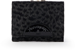 Vivienne Westwood Anglomania Cheetah Wallet With Coin Pocket- Black