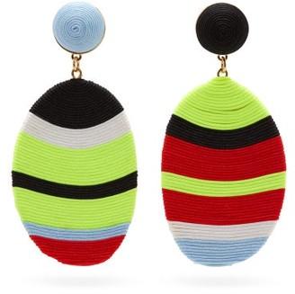 MaryJane Claverol Marfa Mismatched Drop Clip Earrings - Multi