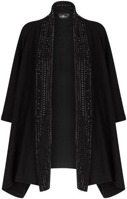 William Sharp Swarovski Crystal Cashmere Cape