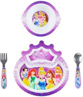 Learning Curve Disney Princesse 4 Piece Feeding Set