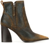 Premiata Distressed Ankle Boots