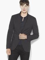 John Varvatos Vintage-Inspired Striped Jacket