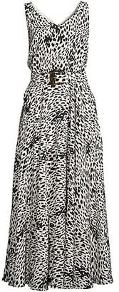 Lafayette 148 New York Memphis Printed Silk Dress