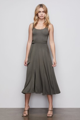 Good American The Belted Swing Tank Dress