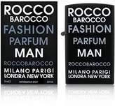 Roccobarocco Rocco Barocco Fashion Cologne by for Men. Eau De Toilette Spray 2.5 Oz / 75 Ml.