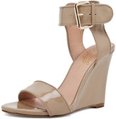 Gilda Wedge Sandal w/ Strap in Sand