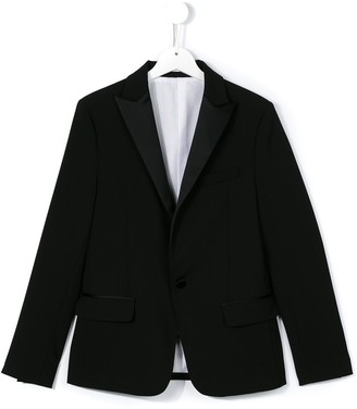 DSQUARED2 TEEN one button blazer
