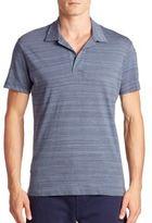 Orlebar Brown Striped Button-Less Polo