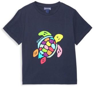 Vilebrequin Little Kid's & Kid's Multicolor Turtle Graphic Tee